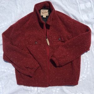 Red Woolrich Jacket